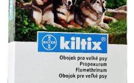 KILTIX Obojek proti blechám a klíšťatům pro velké psy 70 cm