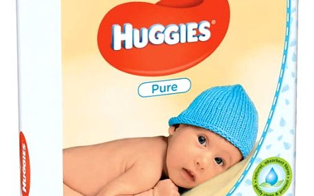 Huggies QUATRO Pack Pure 4x56ks