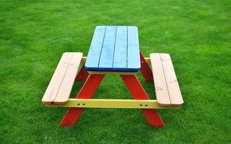 Piknik - Dětská souprava (červená, modrá, žlutá)