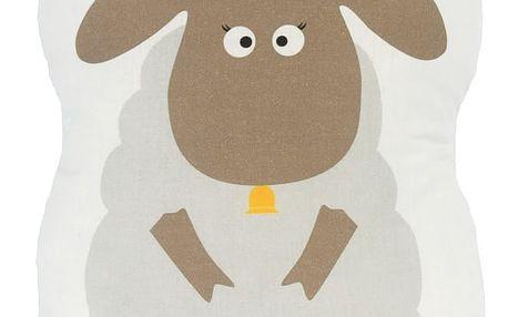 Bavlněný polštářek Baleno Little Sheep, 40x30cm