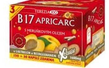 TEREZIA B17 Apricarc s meruňkovým olejem 150+30 kapslí