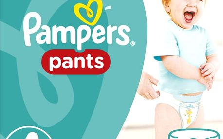 PAMPERS Pants 4, 24ks (9-14kg) CARRY Pack - plenkové kalhotky