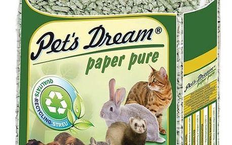 Pets dream Pelety JRS Pet´s Dream Paper Pure 4,8kg