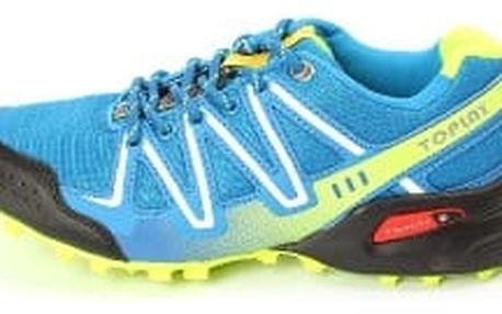 Kvalitní dámské běžecké boty TOP PLAY modré