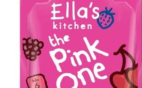 5x ELLA'S Kitchen, Pink One (Třešeň) 90 g