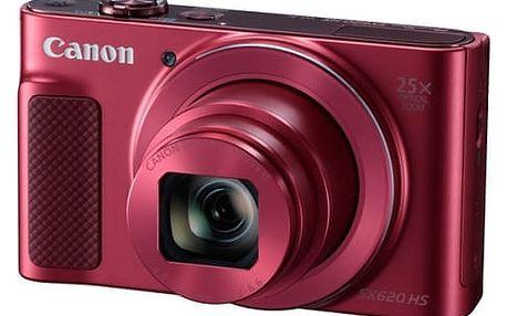 Digitální fotoaparát Canon SX620 HS (1073C002) červený