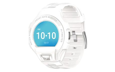 Chytré hodinky ALCATEL GO WATCH SM03, White/Light Grey (SM03-2AALXE7)