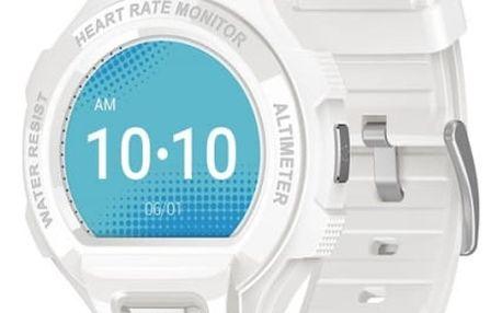 Chytré hodinky ALCATEL GO WATCH SM03, White/Light Grey (SM03-2AALXE7)
