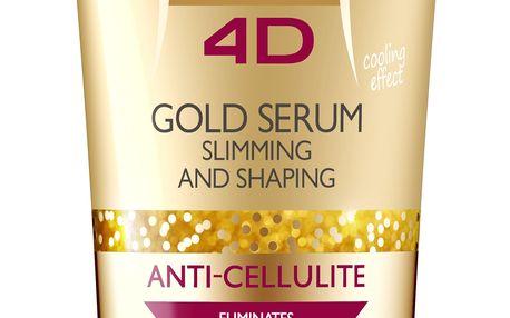 EVELINE Slim 4D Gold Sérum na hubnutí a tvarování 250 ml