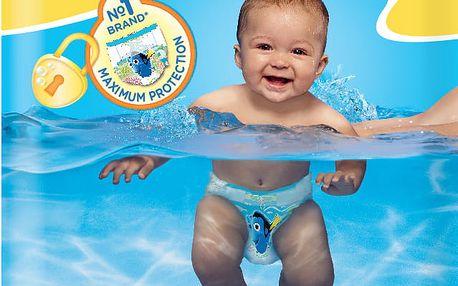 Huggies Little Swimmers vel. 2-3/3-8 kg 12 ks