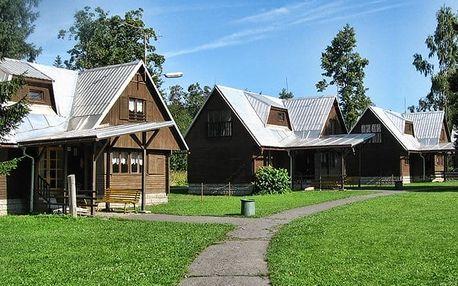3–5denní pobyt se snídaní v bungalovu nebo v chatě střediska Retaso na Valašsku pro 2