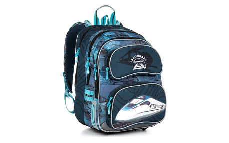 Školní batoh Topgal CHI 865 D - Blue