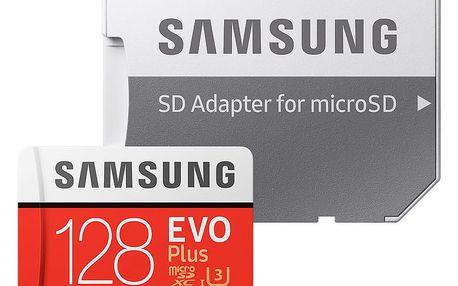 Samsung Micro SDXC EVO Plus 128GB UHS-I + adaptér - MB-MC128GA/EU
