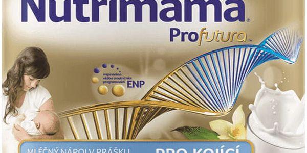 NUTRILON NUTRIMAMA Profutura mléčný nápoj v prášku s vanilkovou příchutí (400g)
