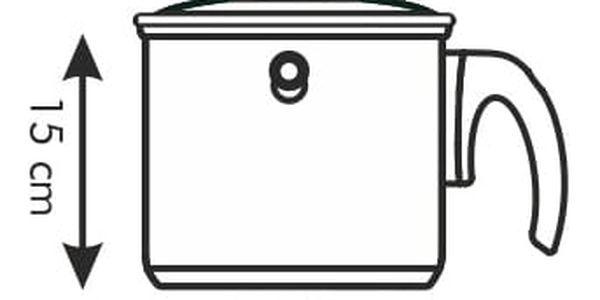 Mlékovar dvouplášťový PRESTO s poklicí ø 16 cm, 2.0 l3