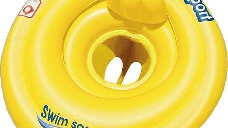 BESTWAY Nafukovací baby sedací kruh s opěrkou, průměr 69 cm