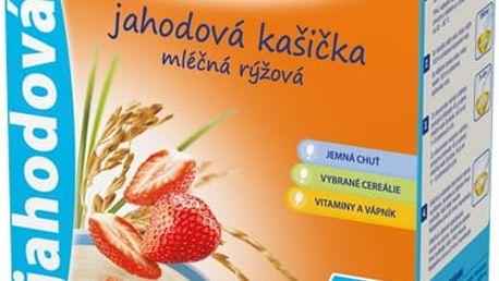 SUNÁREK Jahodová kašička (225 g) - mléčná kaše