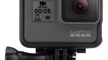 GoPro HERO5 Black - CHDHX-501-EU + Čelenka GoPro (Head Strap + QuickClip) v ceně 779 Kč + GoPro The Tool v ceně 219 Kč
