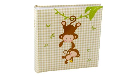 KARPEX Exkluzivní dětské fotoalbum 10x15/200 foto FUNNY, Opice