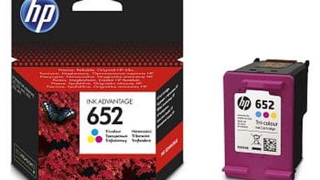 Inkoustová náplň HP 652, F6V24AE (F6V24AE) originální
