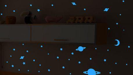 Svítící samolepka Fanastick Stars and Planets