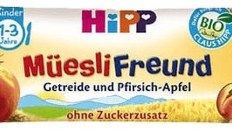 HIPP BIO müsli Broskvovo - jablečná tyčinka (20 g)