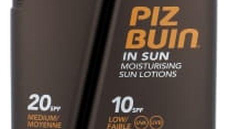 PIZ BUIN In Sun DUO SPF10 + SPF20 300 ml opalovací přípravek na tělo unisex