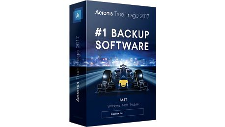 Acronis True Image 2017 CZ pro 1 PC - TIHZB2CZS