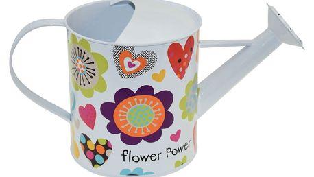 Zalévací konvička Incidence Flower Power, 2l