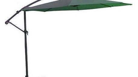 Slunečník Rojaplast 8080 závěsný 350 cm zelený + Doprava zdarma