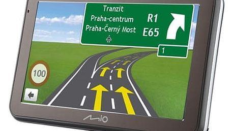 Navigační systém GPS Mio Spirit 7670 Full Europe Lifetime (5413N5020046) černá/šedá