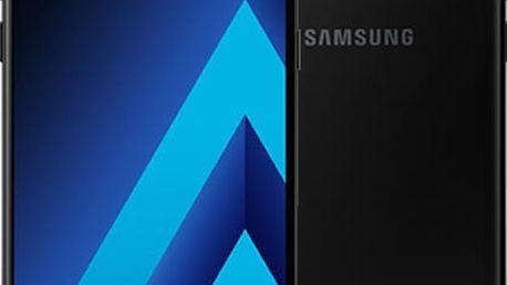 Samsung Galaxy A5 2017, černá - SM-A520FZKAETL