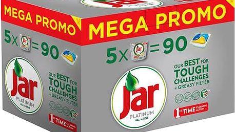 JAR Kapsle Platinum Yellow Box 5x18ks