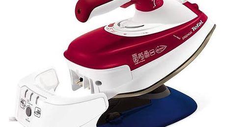 Žehlička Tefal Freemove FV9970E0 bílá/červená + Doprava zdarma
