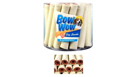 Pochoutka Bow-Wow Morkové trubičky 35ks/doza