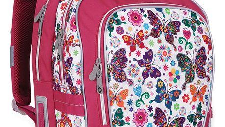 Školní batoh Topgal CHI 740 B - White