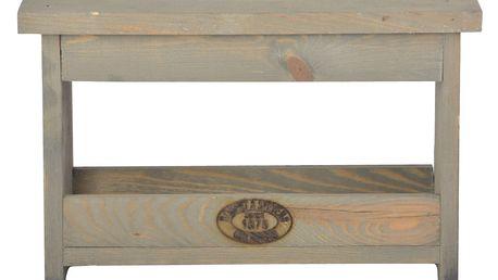 Stolička z borovicového dřeva Esschert Design
