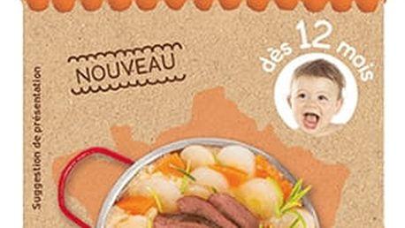2x BABYBIO Pastinák s máslovou dýní, kachnou a polentou 200g