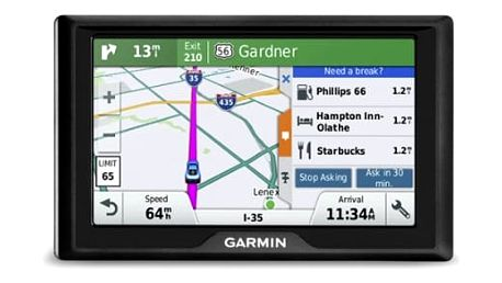 Navigační systém GPS Garmin Drive 50T Lifetime Europe45 Travel černá