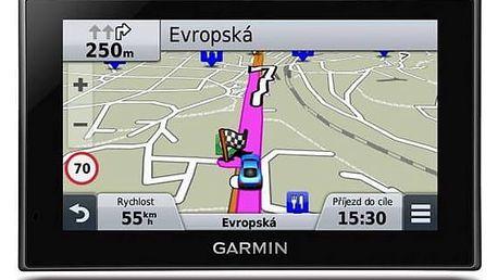 Navigační systém GPS Garmin nüvi 2789T Lifetime Europe45 černá + Doprava zdarma