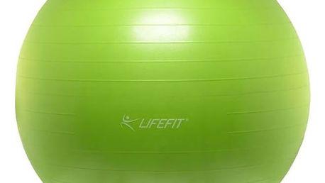 Gymnastický míč LIFEFIT ANTI-BURST 75 cm zelený