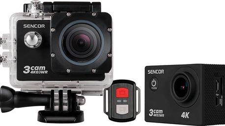 Sencor 3CAM 4K03WR + Sencor 3CAM CAR SET v ceně 299 Kč