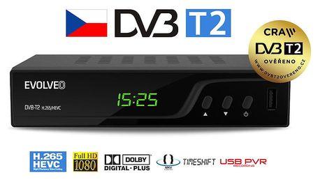 Evolveo Omega T2, DVB-T2 - DT-3060-T2-HEVC