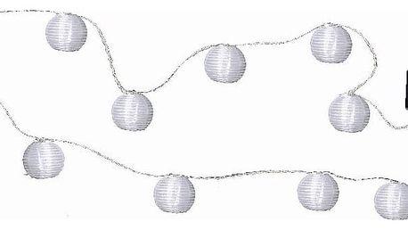 Světelný LED řetěz Best Season Lampions, 10 světýlek