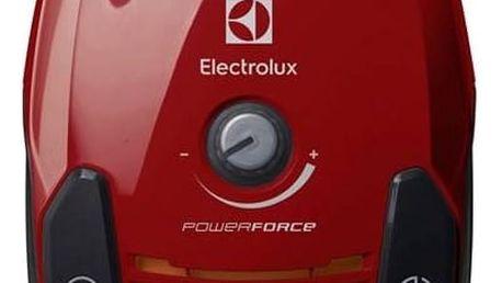 Vysavač podlahový Electrolux PowerForce ZPFCLASSIC červený + Doprava zdarma