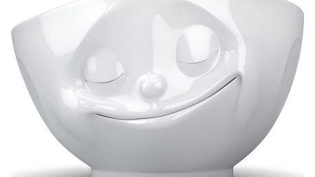 Šťastná bílá miska 58products