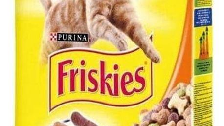 Granule FRISKIES Cat kuřecí a zelenina 10 kg