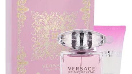 Versace Bright Crystal dárková kazeta pro ženy toaletní voda 30 ml + tělové mléko 50 ml