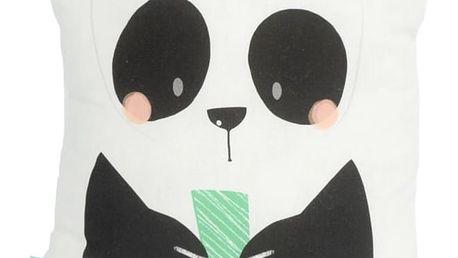 Polštářek Moshi Moshi Panda Gardens, 40x30cm