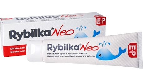 HBF Rybilka NEO Mast s rybím tukem 100 ml - krém na opruzeniny